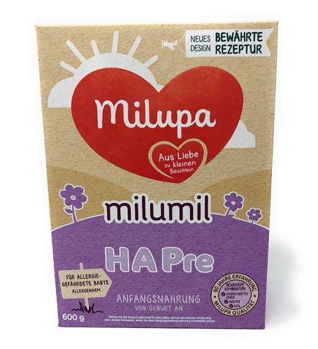 Milupa Milumil HA PRE -Anfangsmilch-