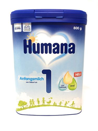 HUMANA 1 Anfangsmilch, 800g